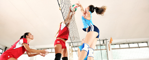 protect shoulder summer sports volleyball