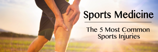 New Orleans Sports Medicine:  The 5 Most Common Sports Injuries